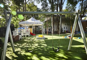 Large outdoor play environment